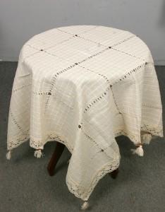 100x100 40 boncuk masa örtüsü - Kopya